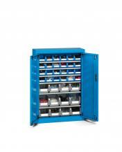 FAK104052 - PERFOM típusú szekrény szárnyas ajtókkal és tárolókkal - DIM. MM W=700 D=270 H=1000