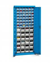FAK106654 - PERFOM típusú szekrény szárnyas ajtókkal és tárolókkal - DIM. MM W=700 D=270 H=1655