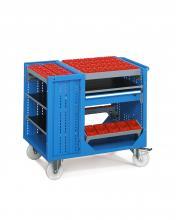 FCNK60006 - COMBI NC típusú szállítókocsi kerekekkel szerszámtartók nélkül 1 fiókkal - DIM. MM W=1073 D=685 H=935